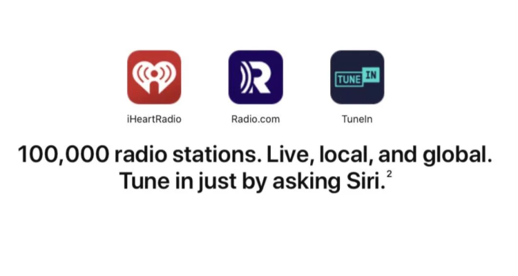 Apple Quietly Expands Siri Support for 100,000+ Radio Stations