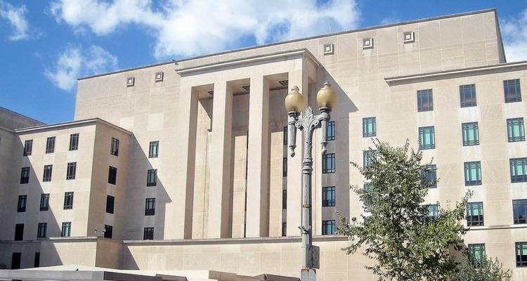 U.S. State Department headquarters, Washington, D.C. (photo: AgnosticPreachersKid CC by 3.0)