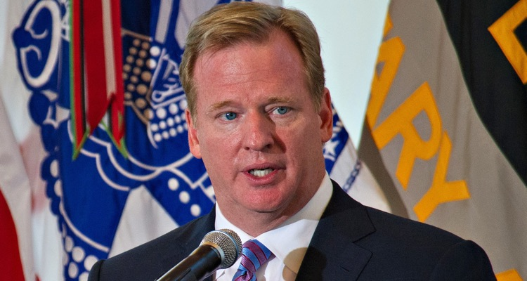 National Football League (NFL) Commissioner Roger Goodell (photo: SSG Teddy Wade)