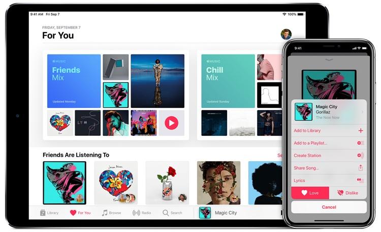 Apple Music: One of several juicy targets.