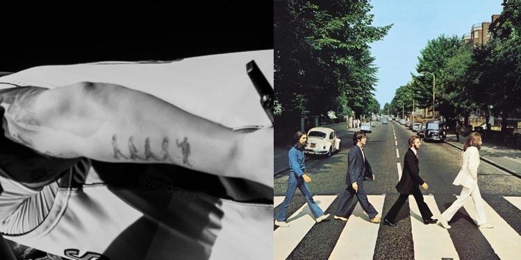 Drake Beatles Tattoo
