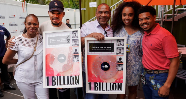 After Helping To Save Soundcloud In 2017, Chance The Rapper Hits 1 Billion Streams On The Platform