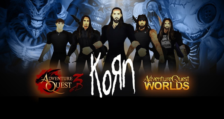Korn Is The Latest 'booking' Virtual Shows — This Time Inside Adventurequest Games
