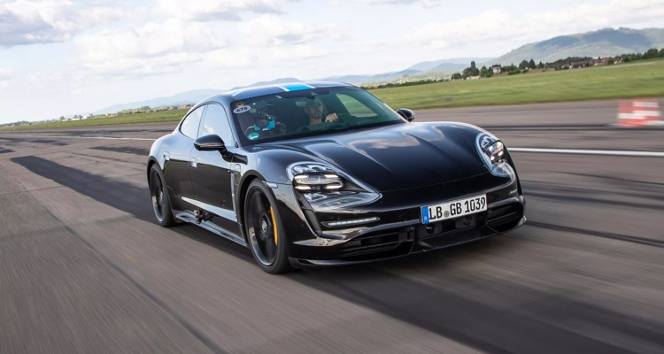 Porsche's All-electric Taycan Becomes The First Car To Integrate Apple Music As A Standard Feature