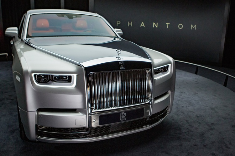 Rolls Royce Phantom is frequently found in rap music videos