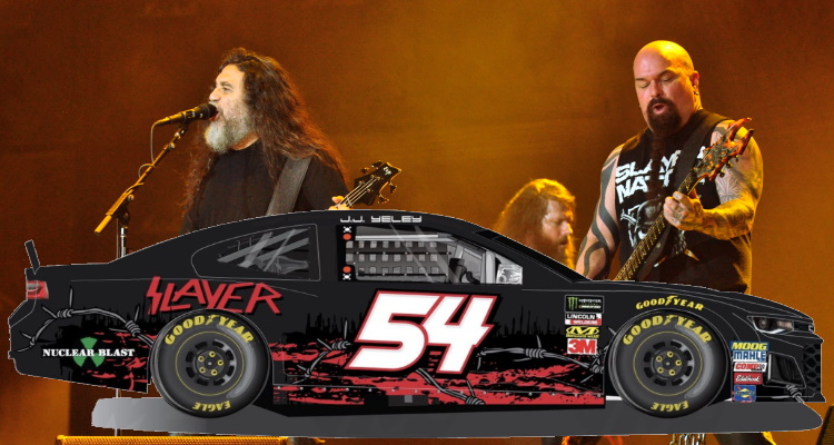 """Slayer's Nascar Sponsorship Pulled Over """"long-time Sponsor Concerns"""""""