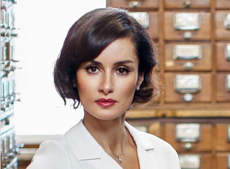 Russian journalist Tina Kandelaki says she was defending Katy Perry