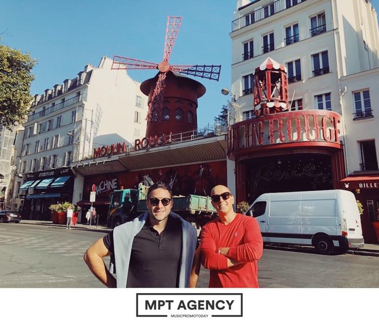 MusicPromoToday Co-Founders: Raffi Keuhnelian (left) Anthony Katz (right) - Paris 2019