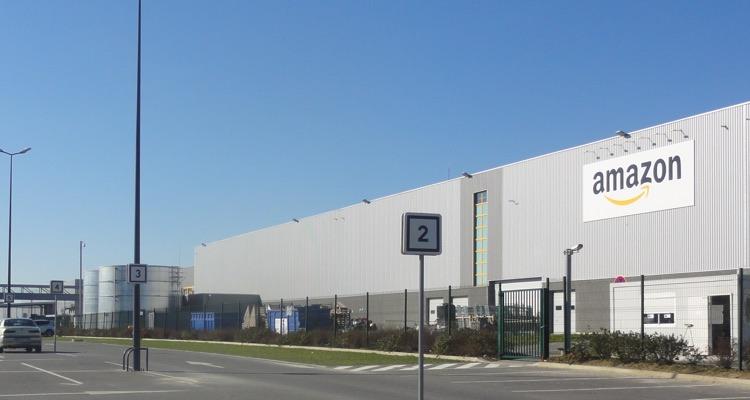 Amazon warehouse facility