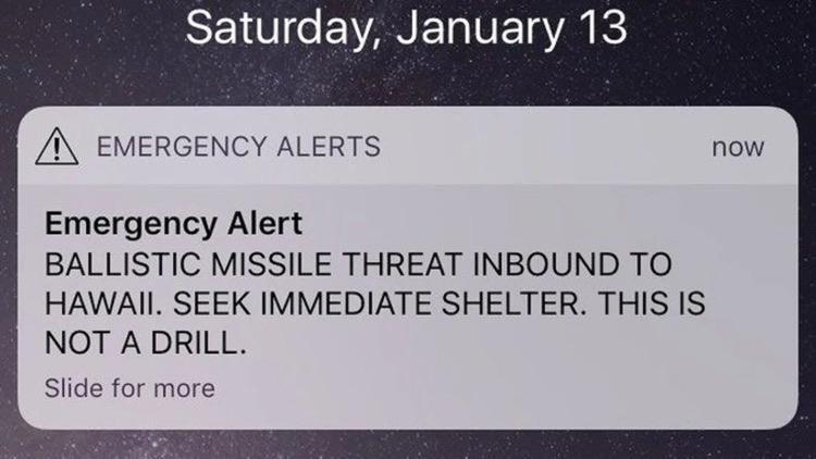 Emergency alerts gone wild