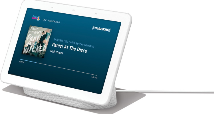 SiriusXM Content Coming To Google Home Devices Soon