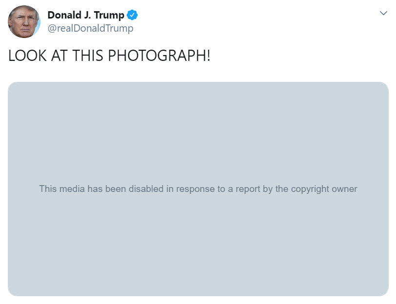 Trump Tweets Nickelback Meme — Warner Music Issues Takedown Notice