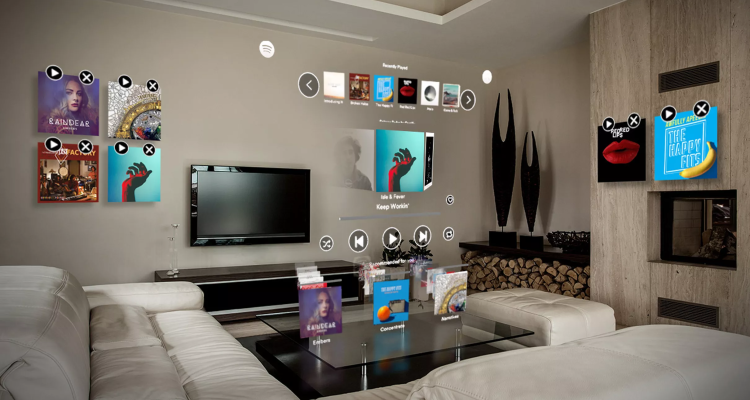 Spotify Magic Leap App Now Live ⁠— Create Augmented Reality Playlists