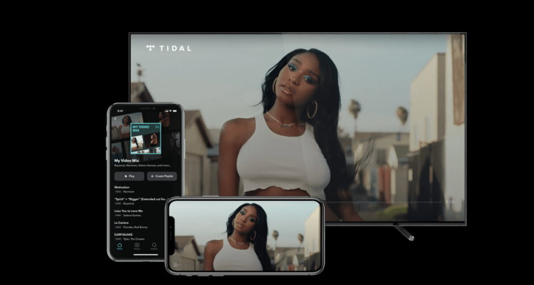Tidal My Video Mix Playlist