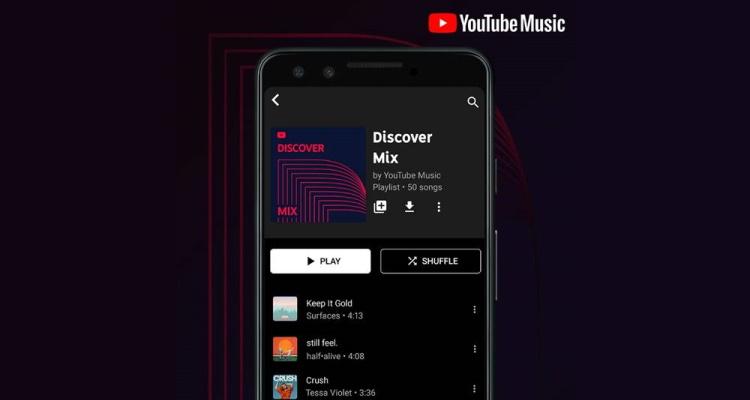 YouTube Music Personalized Playlist