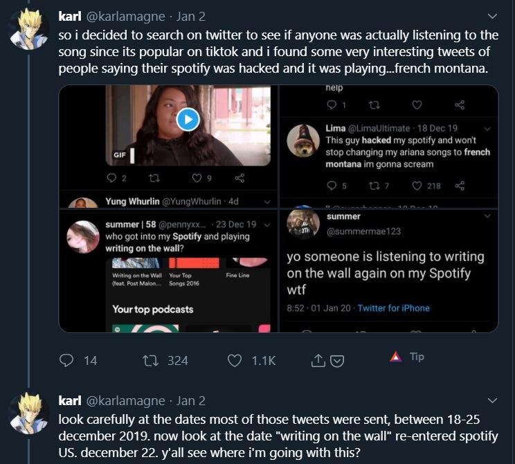 fake Spotify Streams
