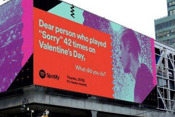 Spotify ad data