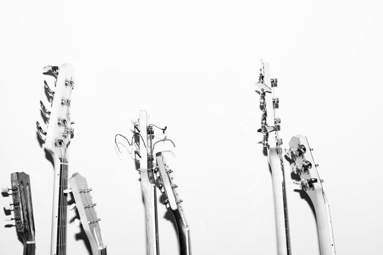 Guitar necks and tuners