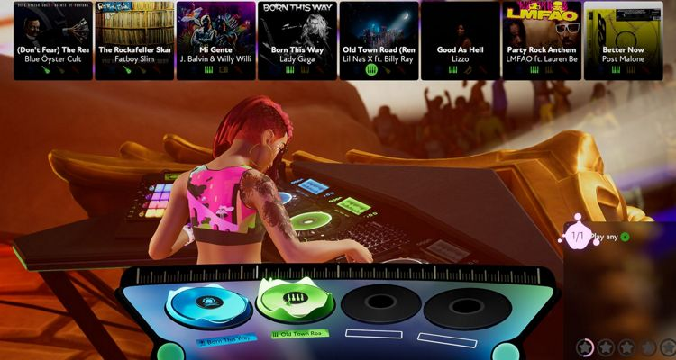 Harmonix Announces New Music Game Called Fuser, Become A DJ