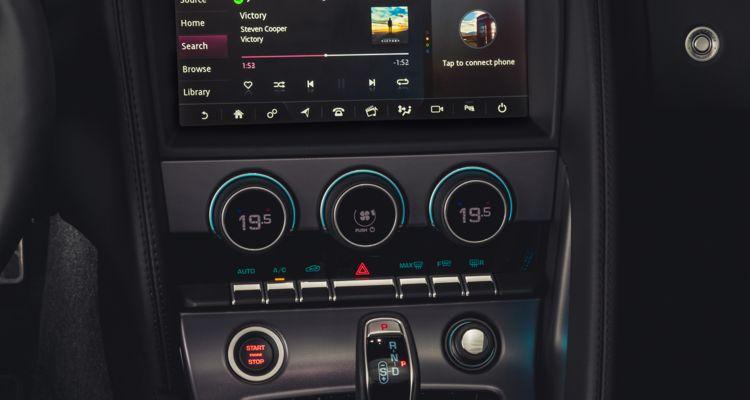 Jaguar Spotify dashboard