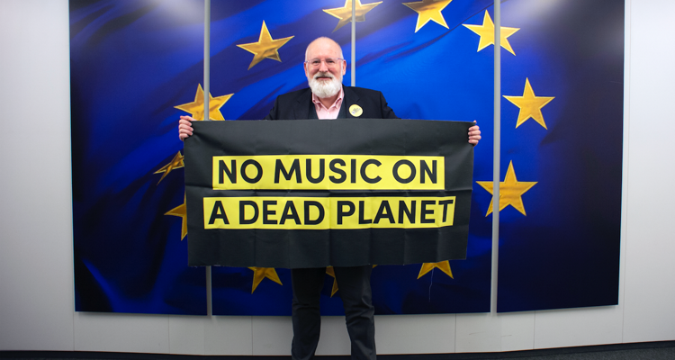 Music Declares Emergency: No Music on a Dead Planet