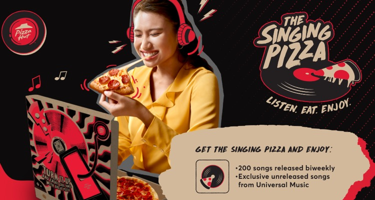 Tuned Global recently powered Pizza Hut's 'Singing Pizza' campaign in Malaysia, a deal that involved Universal Music Group.