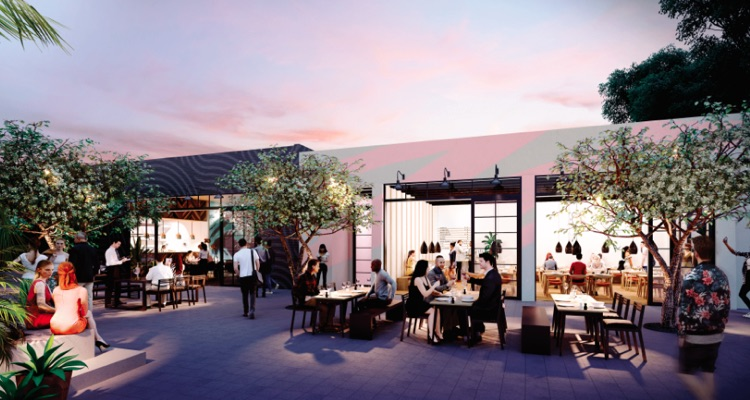 Spotify Miami: Buildings 3 and 4 Private Terrace
