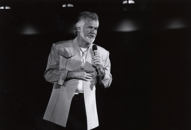 Kenny Rogers In 1971 (photo: University of Houston)