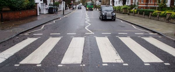 Abbey Road repainted