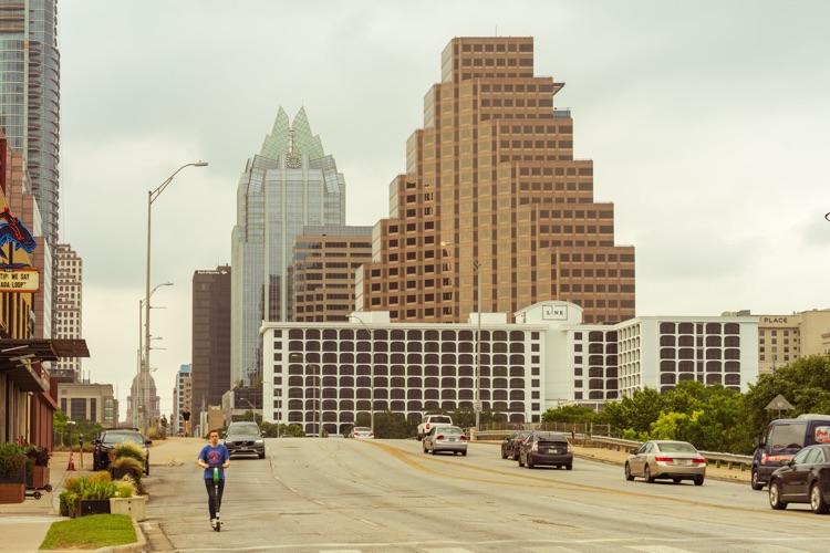 Downtown Austin, TX, which hosts SXSW starting March 13th, 2020 (photo: Avi Werde)