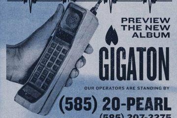 Digital poster for the Pearl Jam 'Gigaton Hotline.'