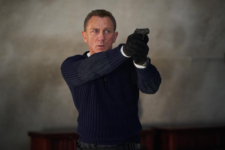 Daniel Craig as 007 — with Billie Eilish playing the tune.