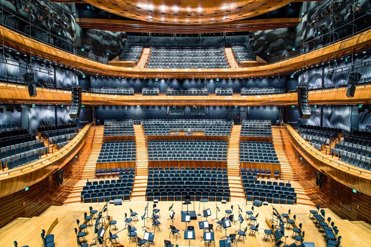 Polish National Radio Symphony Orchestra in Katowice (NOSPR) (photo: Radek Grzybowski)