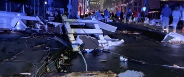 Nashville tornado debris