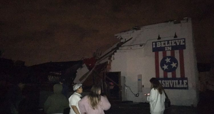 Nashville tornado Basement End