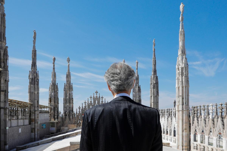 Andrea Bocelli Concert Is Most Viewed Classic Music Performance Ever