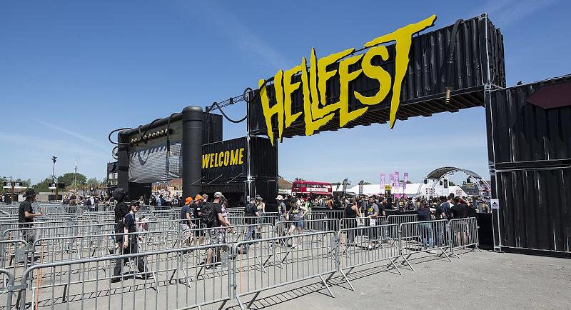 Hellfest entrance.