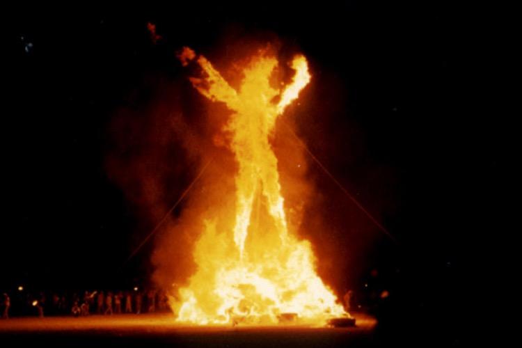 Burning Man (photo: Aaron Logan CC by 2.0)