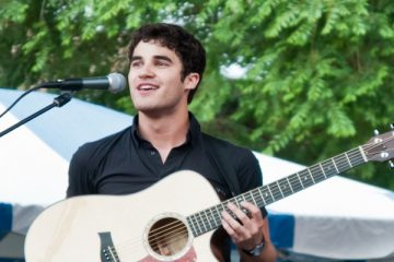 Darren Criss, who stars in the Quibi program Royalties