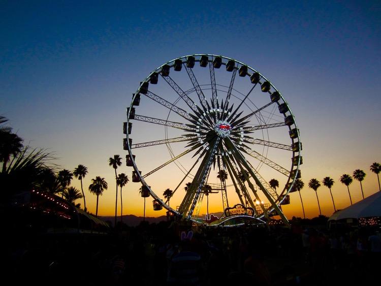 Coachella Ferris Wheel (photo: DomCarver)