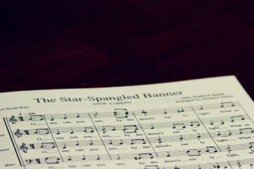 The Star-Spangled Banner sheet music.