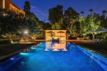 David Geffen mansion