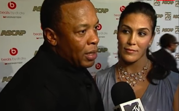 Nicole Young supports Dr. Dre at an ASCAP industry event, 2015
