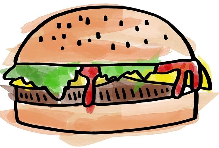 Burger. Photo: Prawny