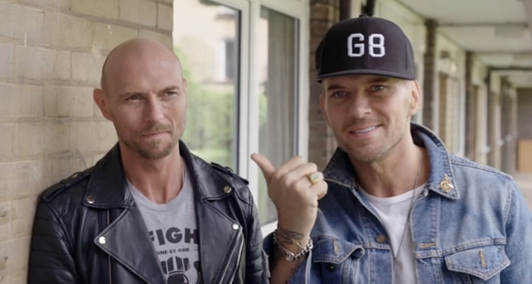Matt and Luke Goss in 'After the Screaming Stops'.