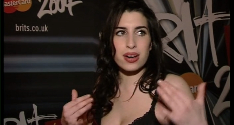 Amy Winehouse in 'Amy Winehouse: A Final Goodbye'.
