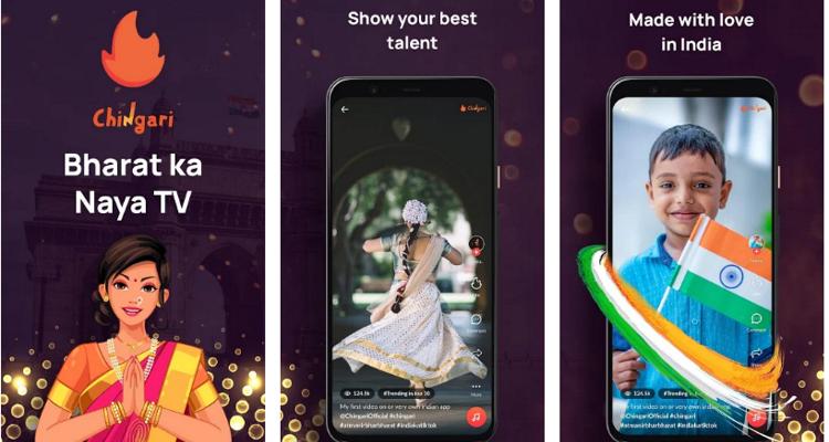 Chingari app - TikTok alternative