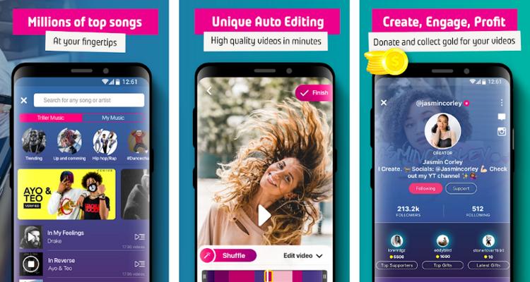 Triller app - TikTok alternatives