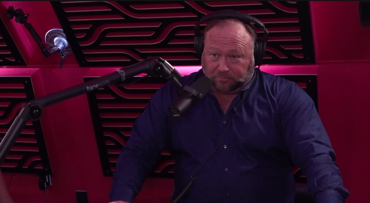 Alex Jones on The Joe Rogan Experience