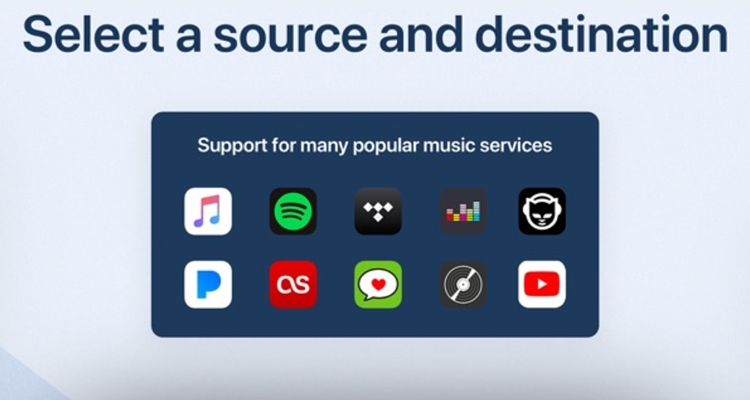 Songshift Spotify